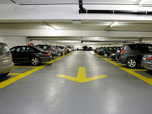 Car Parking Garage Epoxy