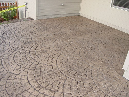 Stamp Concrete Floor